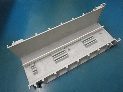 Cable cabinet for platform door installation