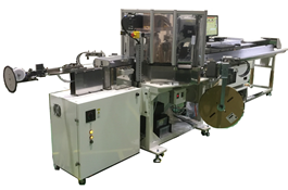 Automatic cutting and crimping equipment