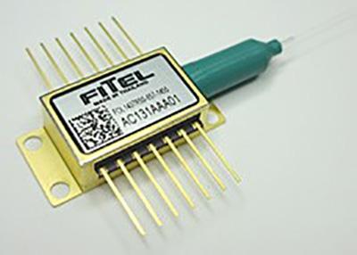 Pump light source laser for Raman amplifiers