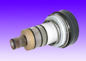 超高圧超電導ケーブル写真